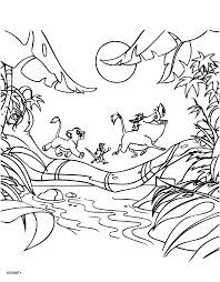 Small Picture Coloring Page The lion king coloring pages 25
