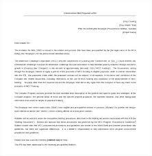 Letter Proposal Template Construction Templates Business ...