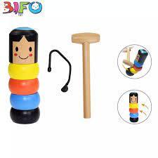 Đồ chơi búp bê ma thuật bằng gỗ đầy kỳ bí và vui vẻ phù hợp cho các hoạt  động giải trí, xả stress