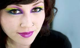 how to mardi gras makeup