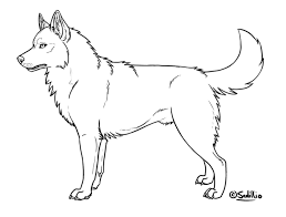 Small Picture Husky Puppy Coloring Pages