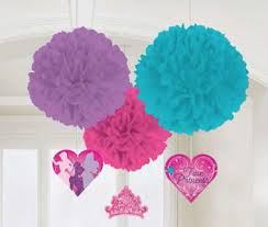 Puff Ball Decorations Nz Impressive Pom Poms Tissue Decorations Tagged Disney Princess Fluffy