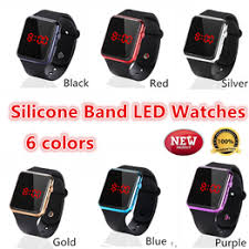 relogio feminino LED Bracelet Digital Watches For Men ... - Vova