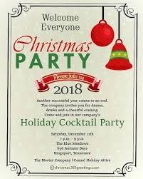 Corporate Christmas Invitation Template Wsopfreechips Co