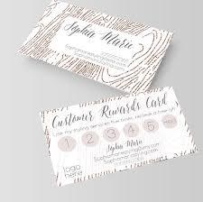 Customer Loyalty Card Idea For Anniepom Mialisia Hair Salon Loyalty