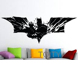 super hero wall decals spider man swing life size