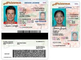 real id licenses ing to arizona