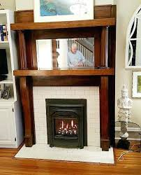 convert wood burning fireplace to gas gas inserts are stoves that are inserted into an existing