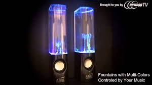 Bluetooth Light Show Fountain Speakers