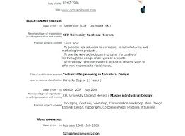 Resume Samples Pdf Beauteous Curriculum Vitae Resume Samples What Is Format Sample Template Pdf