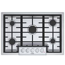 30 gas cooktop.  Cooktop Bosch 800 Series 5Burner Gas Cooktop Stainless Steel Common 30 Inside S
