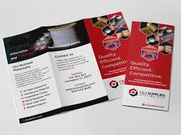 Free Graphic Design Brochure Templates Multipurpose Tri Fold Brochure Design By Best Graphics