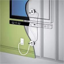 legrand in wall soundbar power kit