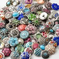 whole noosa snap jewelry d03464 rivca snaps on jewelry hot mix styles mm rhinestone