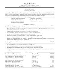 tradesman resumes superintendent resume template sample tradesman superintendent