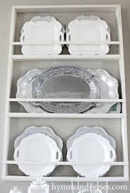 build your own plate rack