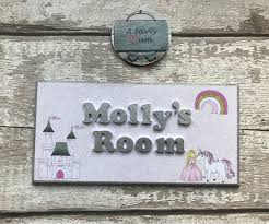 design your own personalised kid s room plaque personalised door sign bedroom door sign childrens door plaque various themes decor