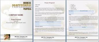 Proposal Templates Free Free Proposal Template Under Fontanacountryinn Com