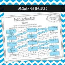 radical equations worksheet beginner