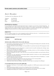 Sample Resume Experienced Resume Examples For Experienced Professionals Examples Of Resumes 10