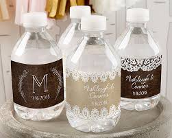 wedding bottle label personalized rustic charm wedding water bottle labels personalized