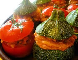 Resultado de imagen de baked vegetables