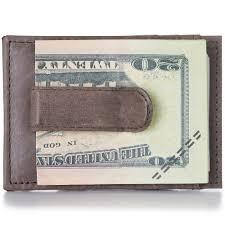 alpine swiss mens money clip thin front pocket wallet genuine leather card case 0