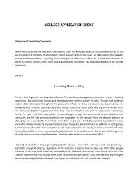 A College Essay Examples Expert Guide To Write A College Application Essay Examples