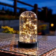bell jar lighting fixtures. Firefly Battery Operated LED Bell Jar Lighting Fixtures N
