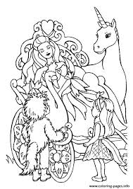 Little princess sleeping on unicorn. Print The Barbie And The Unicorn Princess Coloring Pages Unicorn Coloring Pages Princess Coloring Pages Princess Coloring