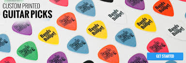 Custom Guitar Picks in    Gauges Colors