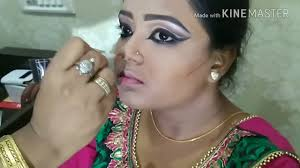 indian clical dance inspired makeup how to enhance small eyes to look bigger than ever