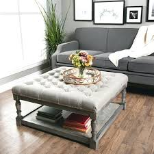 tufted coffee table ottomans modern tufted ottoman coffee table awesome luxury tufted coffee table ottomans and