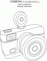 Camera Coloring Pages Coloring Home