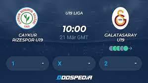 Caykur Rizespor U19 - Galatasaray U19 » Live Stream & Ticker + Quoten,  Statistiken, News