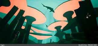 ArtStation - Beneath the Waves | ArtStation Challenge [UE4], Fernando Quinn