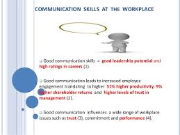 the case for effective communication at the workplace communication skills at the workplace