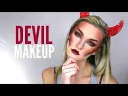 devil makeup tutorial makeup 2 looks in 1