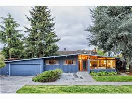 northwest modern home architecture. A Seattle Real Estate Dream Come True: Mid-century Perfection Abounds In This Sprawling Atomic Ranch Coveted Salmon Bay Neighborhood Of Ballard Northwest Modern Home Architecture E