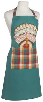 Now Designs Apron Tommy Turkey Spruce Apron Now Designs