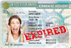 how to renew or replace green card