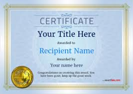 Download free award certificate templates. Free Certificate Templates And Awards Free Certificate Templates
