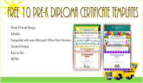 Prek Diploma Printable Award Certificates For Kindergarten Download Them Or Print