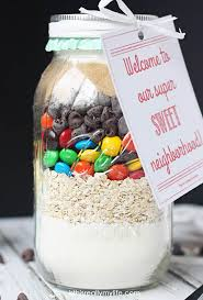 oatmeal m m cookie mix in a jar neighbor gift