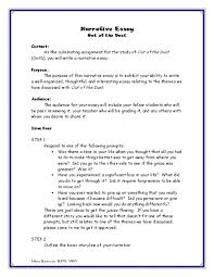 out of the dust narrative essay rd th grade lesson plan out of the dust narrative essay 3rd 7th grade lesson plan lesson planet