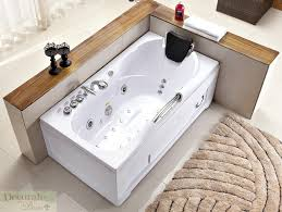 60 white bathtub whirlpool jetted hydrotherapy 19