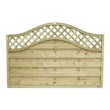 forest prague fence panel 4ft pack
