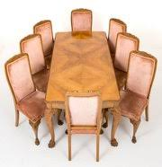 antique dining furniture. walnut queen anne style dining antique furniture