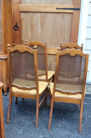 how to upholster a cane back dining room chair chairs wicker high back dining chairs