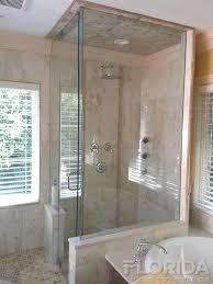 half wall shower enclosure lawhornestorage com decorating ideas 8
